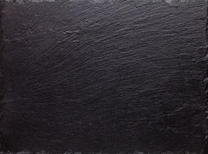 Black slate stone Wall Mural Wallpaper - Canvas Art Rocks - 1
