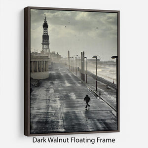 Blackpool Storm Floating Frame Canvas - Canvas Art Rocks - 5