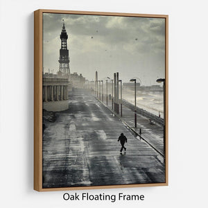 Blackpool Storm Floating Frame Canvas - Canvas Art Rocks - 9