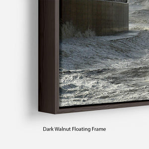Blackpool after the storm Floating Frame Canvas - Canvas Art Rocks - 6