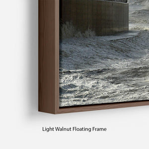 Blackpool after the storm Floating Frame Canvas - Canvas Art Rocks - 8