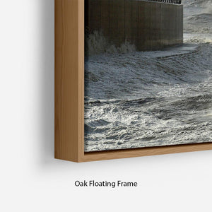 Blackpool after the storm Floating Frame Canvas - Canvas Art Rocks - 10