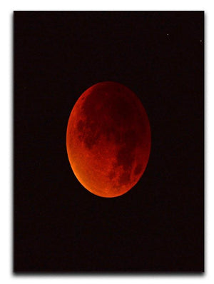 Blood Moon Rising Canvas Print or Poster - Canvas Art Rocks - 1