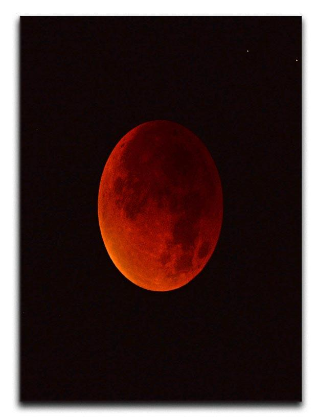 Blood Moon Rising Canvas Print or Poster