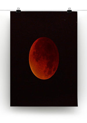 Blood Moon Rising Canvas Print or Poster - Canvas Art Rocks - 2
