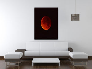 Blood Moon Rising Canvas Print or Poster - Canvas Art Rocks - 4
