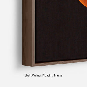 Blood Moon Rising Floating Frame Canvas - Canvas Art Rocks - 8