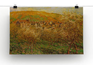 Blooming apple trees by Monet Canvas Print & Poster - Canvas Art Rocks - 2