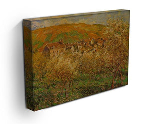 Blooming apple trees by Monet Canvas Print & Poster - Canvas Art Rocks - 3