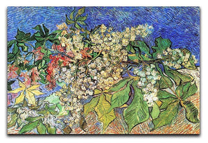 Blossoming Chestnut Branches by Van Gogh Canvas Print & Poster  - Canvas Art Rocks - 1