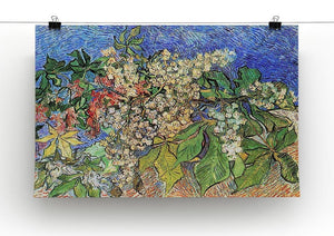 Blossoming Chestnut Branches by Van Gogh Canvas Print & Poster - Canvas Art Rocks - 2