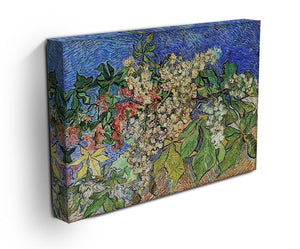 Blossoming Chestnut Branches by Van Gogh Canvas Print & Poster - Canvas Art Rocks - 3
