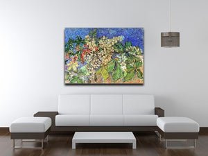 Blossoming Chestnut Branches by Van Gogh Canvas Print & Poster - Canvas Art Rocks - 4