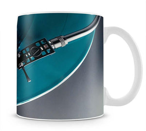 Blue Turntable Mug - Canvas Art Rocks - 1
