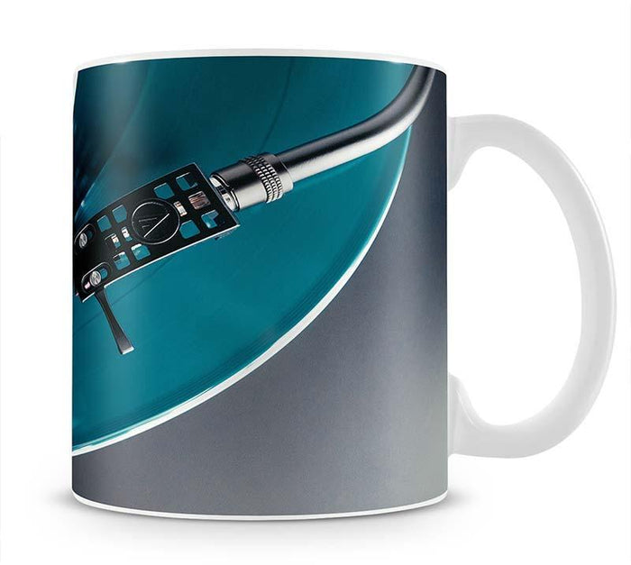 Blue Turntable Mug