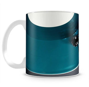 Blue Turntable Mug - Canvas Art Rocks - 2