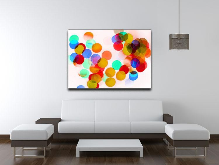 Blurred Lights Canvas Print or Poster - Canvas Art Rocks - 4