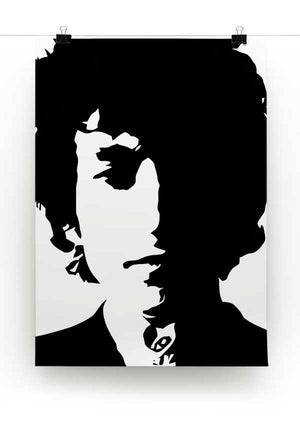 Bob Dylan Print - Canvas Art Rocks - 2