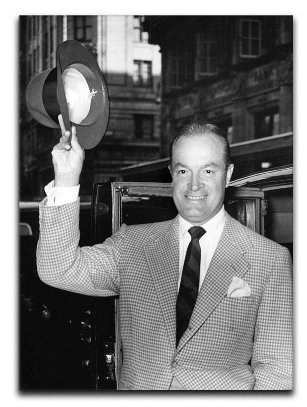 Bob Hope in London Canvas Print or Poster  - Canvas Art Rocks - 1