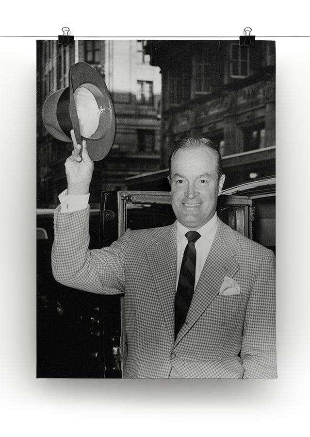 Bob Hope in London Canvas Print or Poster - Canvas Art Rocks - 2