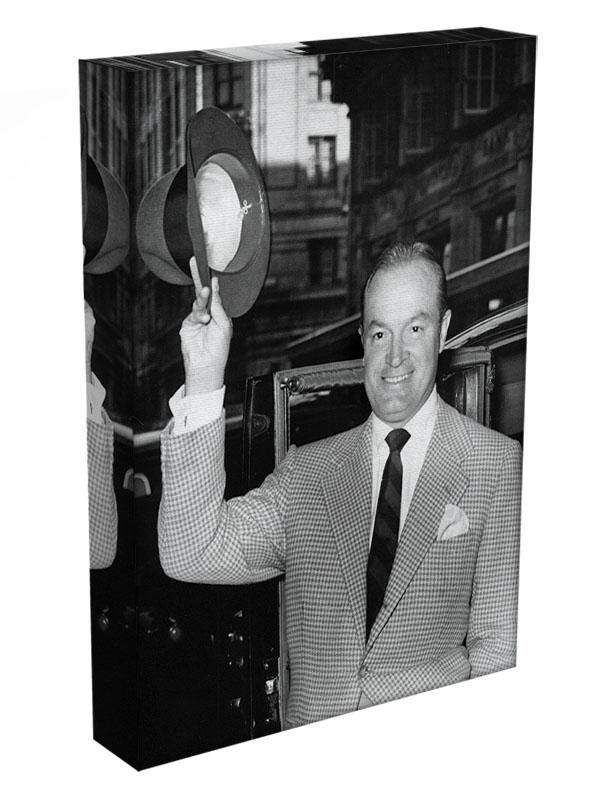 Bob Hope in London Canvas Print or Poster - Canvas Art Rocks - 3