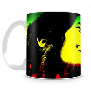 Bob Marley Mug - Canvas Art Rocks - 2