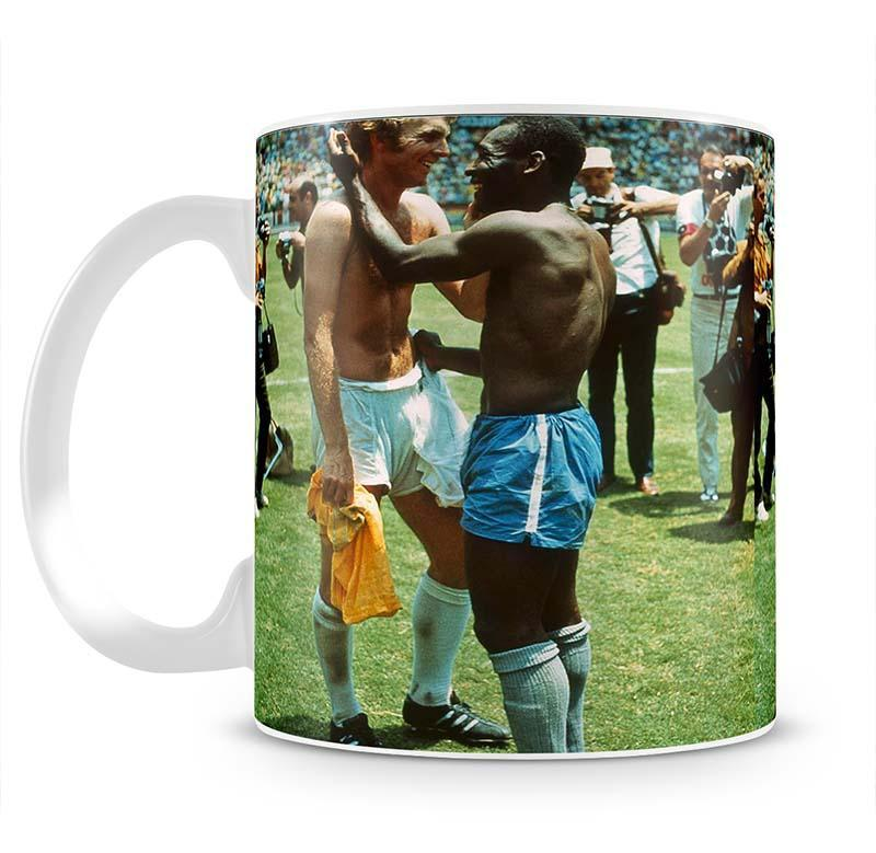 Bobby Moore and Pele Cup - Canvas Art Rocks - 2