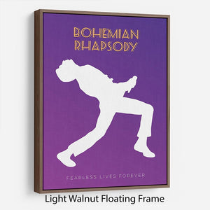 Bohemian Rhapsody Minimal Movie Floating Frame Canvas - Canvas Art Rocks - 7