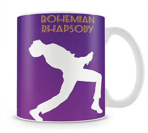 Bohemian Rhapsody Minimal Movie Mug - Canvas Art Rocks - 1