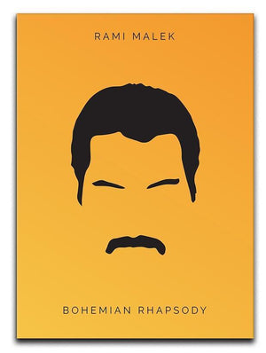 Bohemian Rhapsody Rami Malek Minimal Movie Canvas Print or Poster  - Canvas Art Rocks - 1