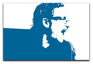 Bono Pop Art Canvas Print or Poster  - Canvas Art Rocks - 1