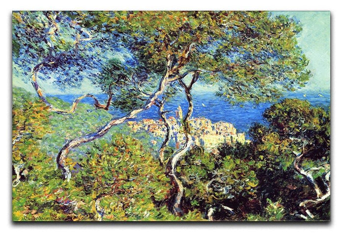 Bordighera by Monet Canvas Print or Poster