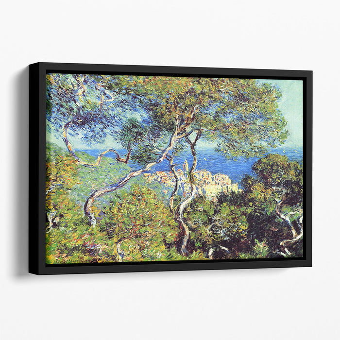 Bordighera by Monet Floating Framed Canvas