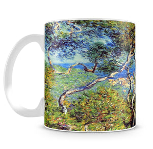 Bordighera by Monet Mug - Canvas Art Rocks - 4