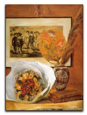 Bouquet by Renoir Canvas Print or Poster  - Canvas Art Rocks - 1