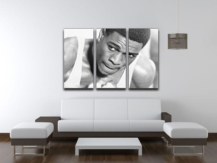 Boxer Frank Bruno 3 Split Panel Canvas Print - Canvas Art Rocks - 3