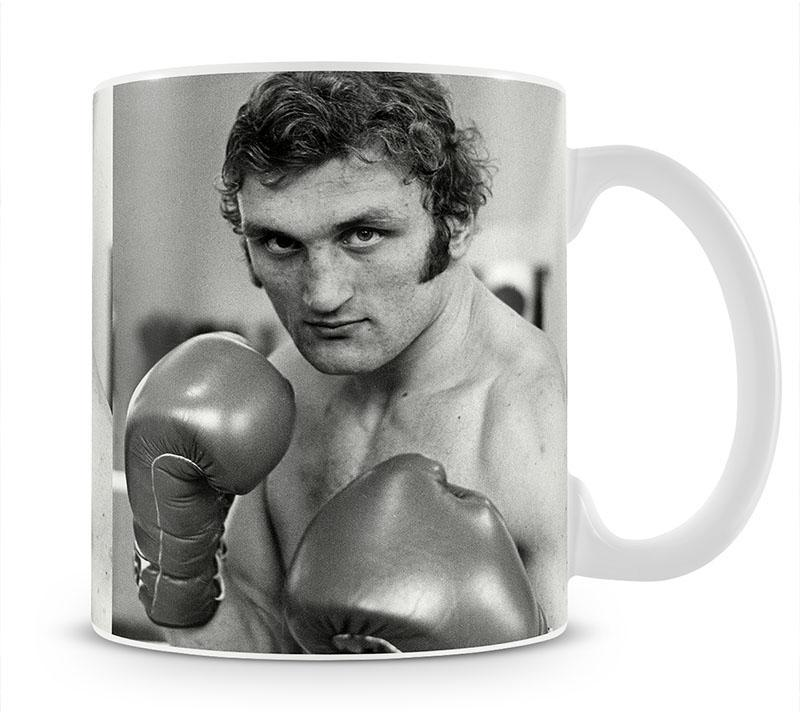 Boxer Joe Bugner Mug - Canvas Art Rocks - 1