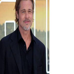 Brad Pitt Once Upon A Time In Hollywood Premiere London Floating Framed Canvas - Canvas Art Rocks - 2