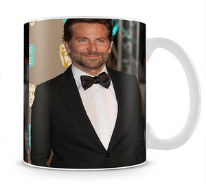 Bradley Cooper at the BAFTAs Mug - Canvas Art Rocks - 1
