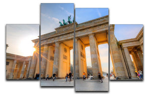 Brandenburg gate 4 Split Panel Canvas  - Canvas Art Rocks - 1