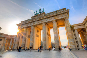 Brandenburg gate Wall Mural Wallpaper - Canvas Art Rocks - 1