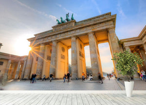 Brandenburg gate Wall Mural Wallpaper - Canvas Art Rocks - 4