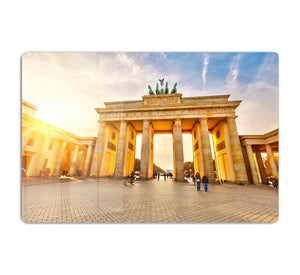 Brandenburg gate at sunset HD Metal Print