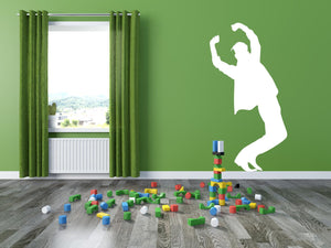 Breakdancer - Version 4 Wall Decal - Canvas Art Rocks - 1