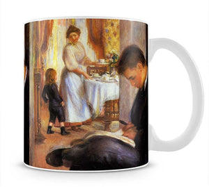 Breakfast at Berneval by Renoir Mug - Canvas Art Rocks - 1