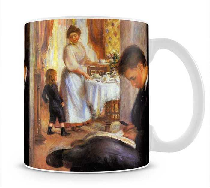 Breakfast at Berneval by Renoir Mug