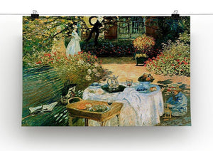 Breakfast by Monet Canvas Print & Poster - Canvas Art Rocks - 2