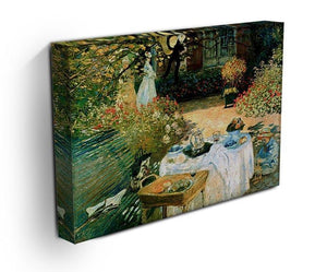 Breakfast by Monet Canvas Print & Poster - Canvas Art Rocks - 3