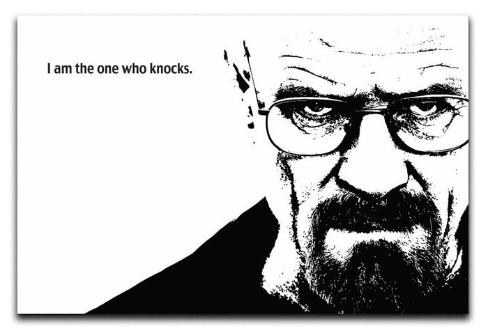 Breaking Bad Walter White Canvas Print or Poster