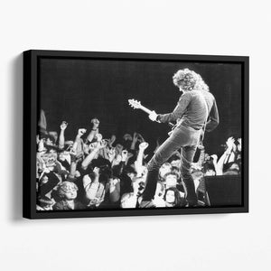 Brian May of Queen Floating Framed Canvas